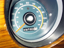 Thumbnail of a Mustang dash speedometer