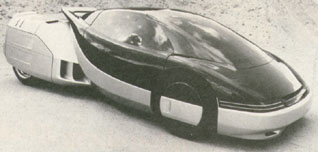 Prototype of an advanced and modular future automobile or car