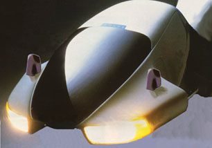 Image of future flying recreational vehicle or RV