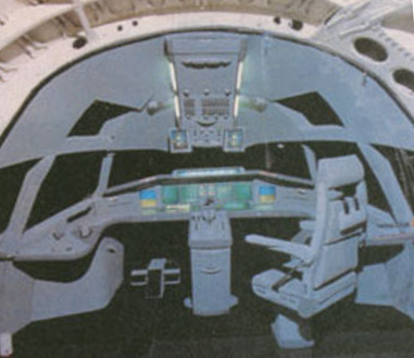 Image of interior of a future spacecraft used by the Pearsall explorers.
